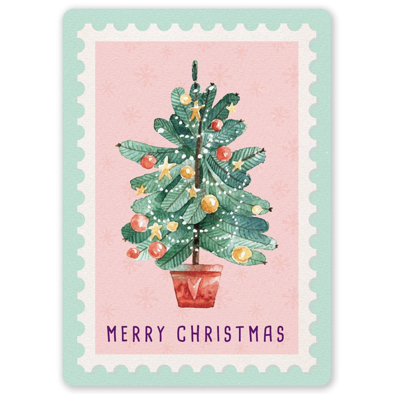 Littleleftylou - Christmas Tree Stamp