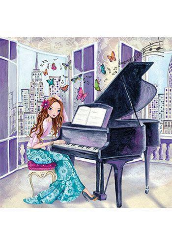 Cartita Design - Piano spelen
