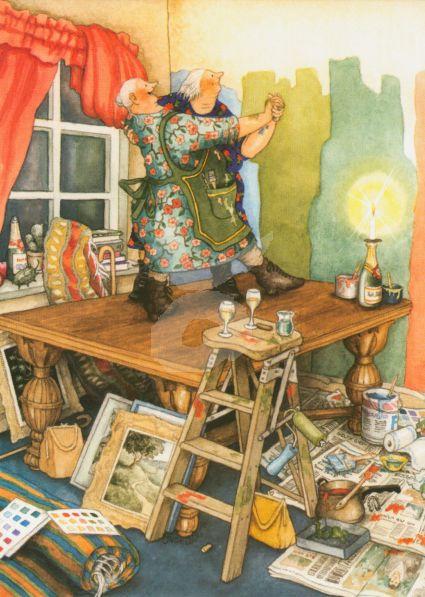 Inge Löök : Dansen op de tafel - NR 64