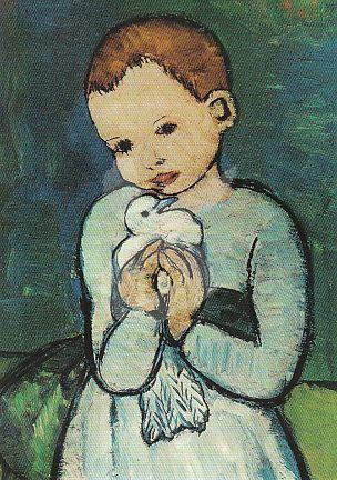 Pablo Picasso - Kind met duif 1901