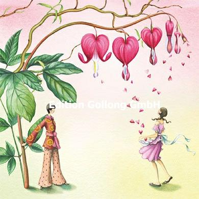 Nina Chen - Paar met bloemen