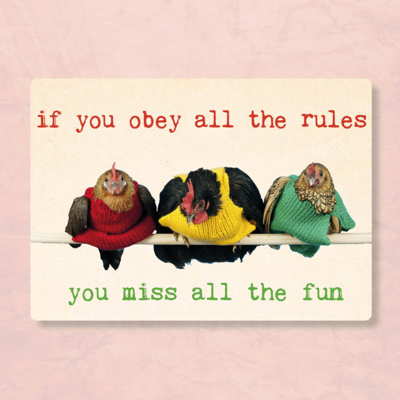 ZintenZ - If you obey all the rules..