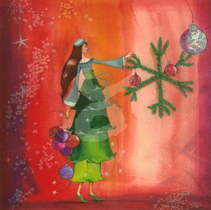 Kristiana Heinemann - Kersttak versieren