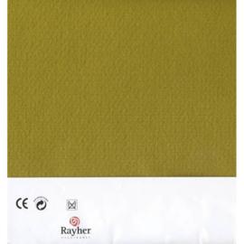 Olijfgroen textielvilt soft 30 x 45 cm van Rayher