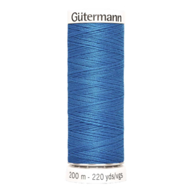 Nr 322 Blauw Gutermann alles naaigaren 200 m