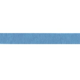 Viltlint 25 mm, midden blauw
