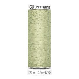 Nr 282 Lichtgroen Gutermann alles naaigaren 200 m
