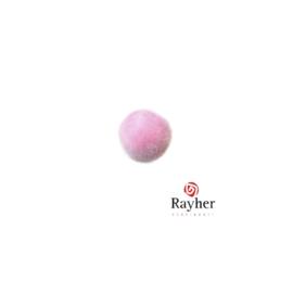 Roze pompon 10 mm van Rayher
