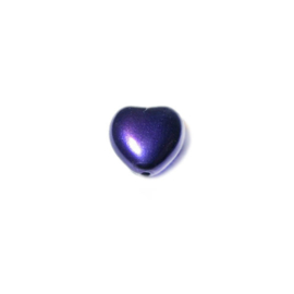 Parel Purple, hartje 8 mm