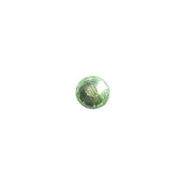 Plakkristal Peridot (groen) 7 mm