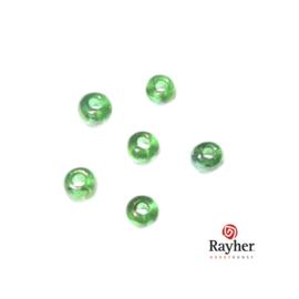 Groene rocaille Transparant Lustré 2,6 mm
