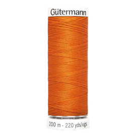 Nr 351 Orange Gutermann Sew all Thread 200 m