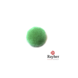 Green pompon 15 mm van Rayher