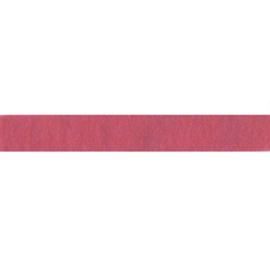Felt ribbon 25 mm, Dark rose