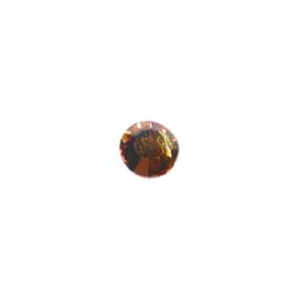 Plakkristal Topaz (lichtbruin) 7 mm