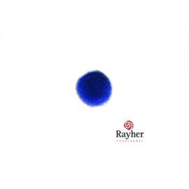 Donkerblauwe pompon van Rayher 10 mm