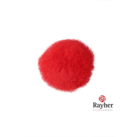 Rode pompon 20 mm van Rayher