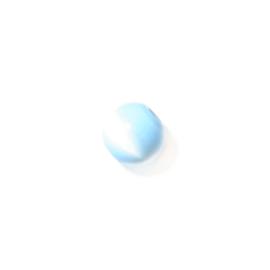Cateye blauwe glaskraal