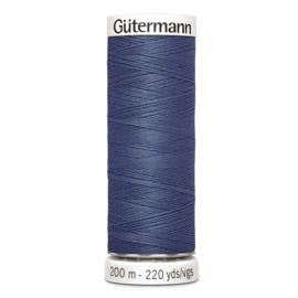 Nr 112 Blauw Gutermann alles naaigaren 200 m
