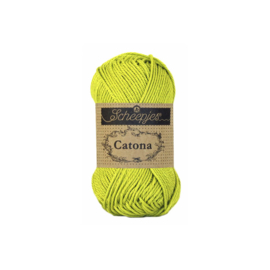 245 Green Yellow Catona 25 gram - Scheepjes