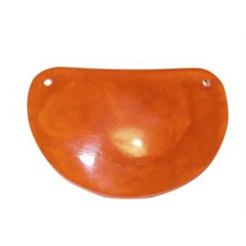 Oranje epoxy halve maan hanger