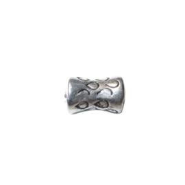 Metalcolored diabolic bead