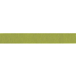 Felt ribbon 25 mm, light green