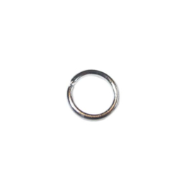 Metaalkleurige buigring 8 mm