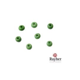 Groene rocaille Opaak 2,6 mm.