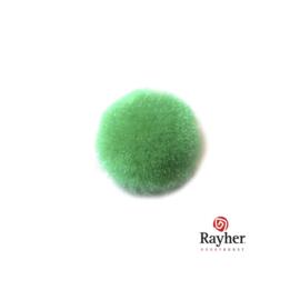 Groene pompon 20 mm van Rayher