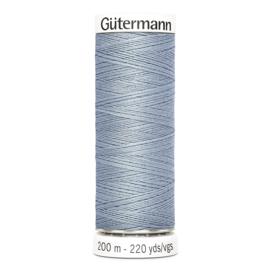 Nr 064 Lichtblauw  Gutermann alles naaigaren 200 m