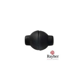 Zwarte Kunststof magneetsluiting
