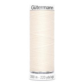 Nr 005 Beige Gutermann alles naaigaren 200 m