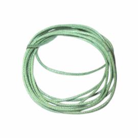 Groen gewaxt katoen 0,5 mm