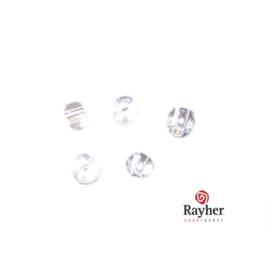 Kristalkleurig rocaille 2,0 mm Transparant