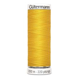 Nr 106 Geel Gutermann alles naaigaren 200 m