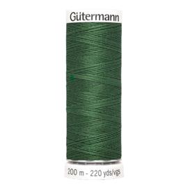 Nr 237 Groen Gutermann alles naaigaren 200 m