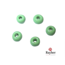 Green Indian bead 4,5 mm, Rocailles from Rayher