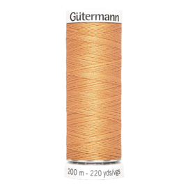 Nr 300 Orange Gutermann Sew all Thread 200 m