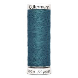 Nr 189 Turquoise groen Gutermann alles naaigaren 200 m
