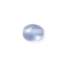 Grijsblauwe glaskraal luster