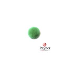 Groene pompon 10 mm van Rayher
