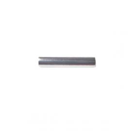 Metalen zilverkleurig staafje