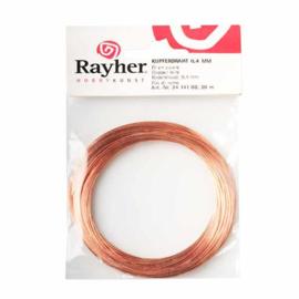 Koperdraad 0,4 mm van Rayher