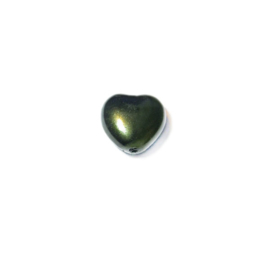 Parel Dark green, hartje 8 mm