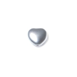 Parel Silver, hartje 8 mm