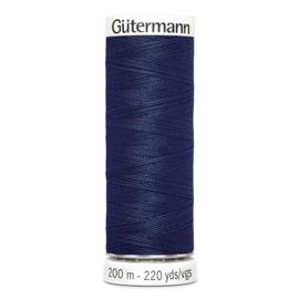 Nr 011 Donkerblauw Gutermann alles naaigaren 200 m