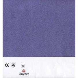 Paars textielvilt soft 30 x 45 cm van Rayher