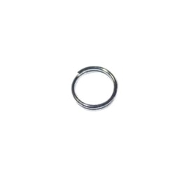 Black Nickel Dubbele ring 7 mm