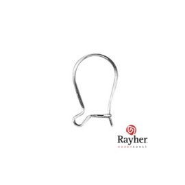 Zilveren oorhaak, 925 Sterling Zilver van Rayher